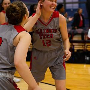 Illinois Tech Women's Basketball vs MSOE