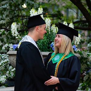 Jake and Meg Graduation Photoshoot