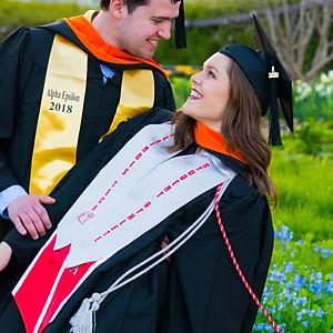 Graduation Photoshoot for Tyler and Ava