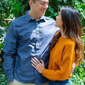 Photoshoot for Jimmy and Jessalena
