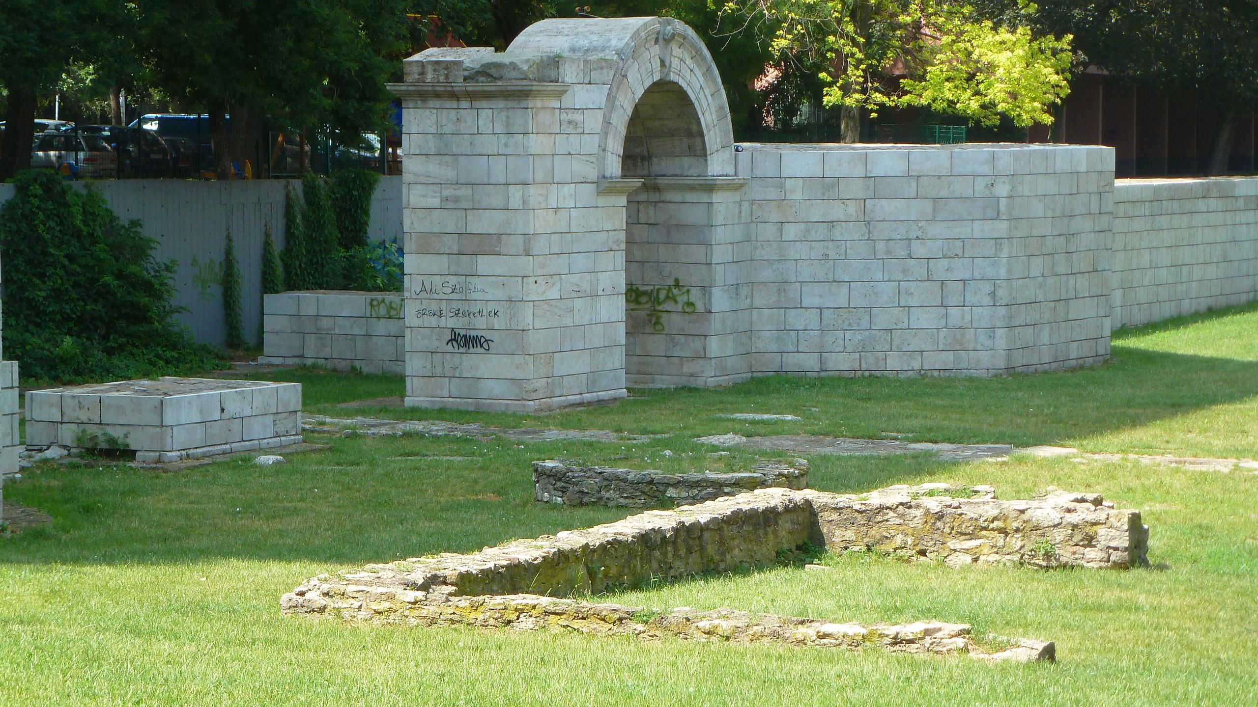 Római kori híd Rekonstrukció