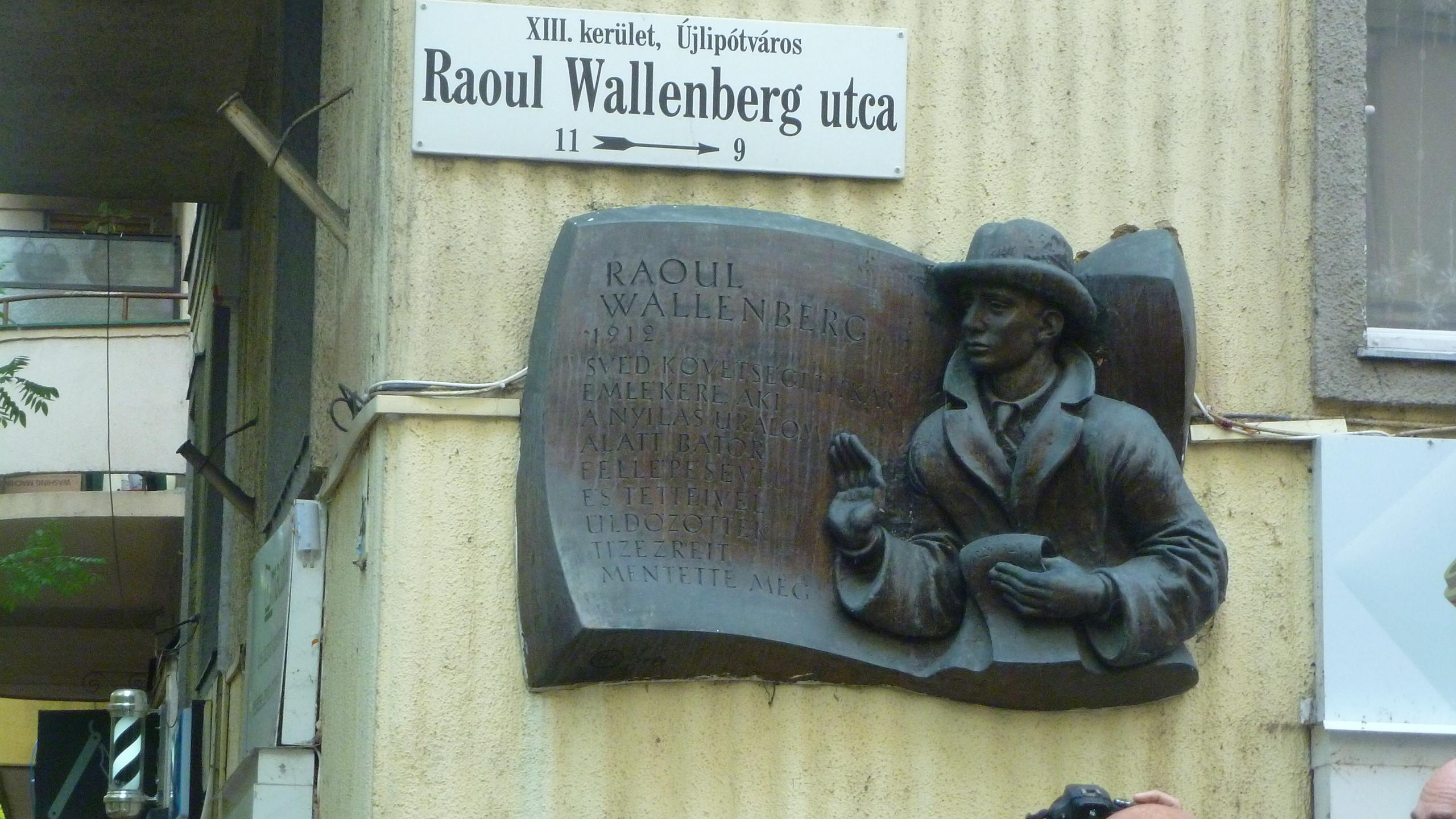 Raoul Wallenberg emléktábla