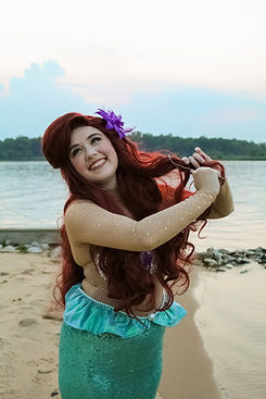 Princess Ariel in Middle River Maryland