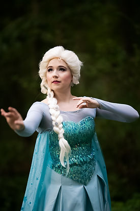 Queen Elsa in Bel Air Maryland