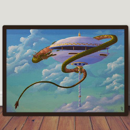 Dragon - Large A2 poster 42x60 cm