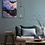 Thumbnail: Smocky Fuji - Peinture originale - Huile - 60x31cm