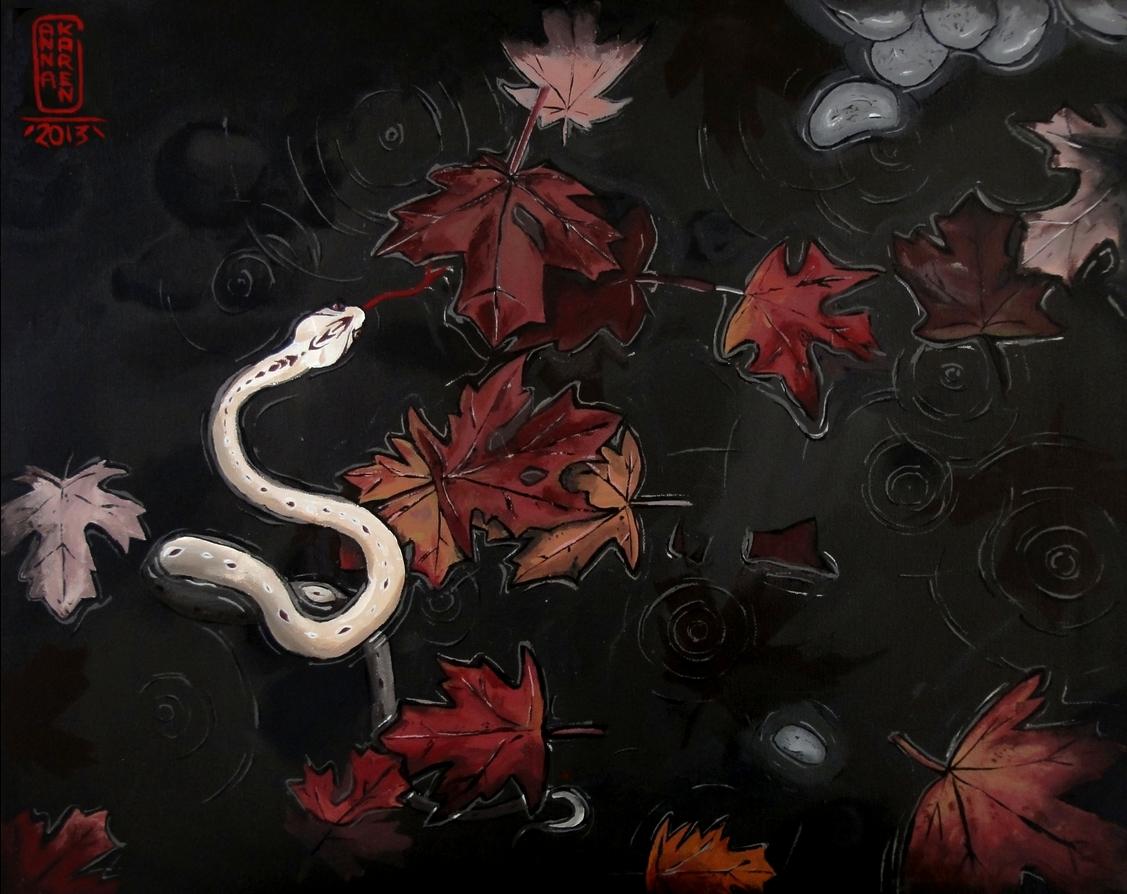 Rain and Snake