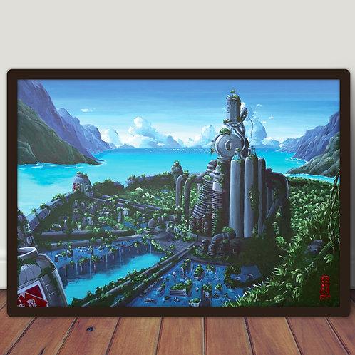 Final Fantasy VII Midgar - Poster