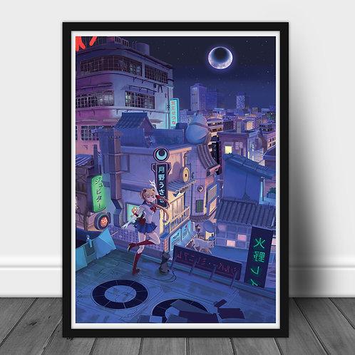 Sailor Moon - Large A2 poster 60x40 cm