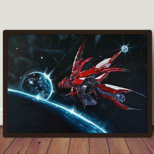 Final Fantasy VIII Ragnarok - Large A2 poster 42x60 cm