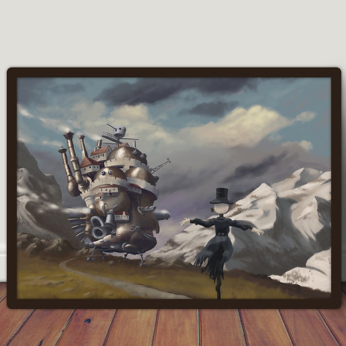 Le château ambulant - Poster