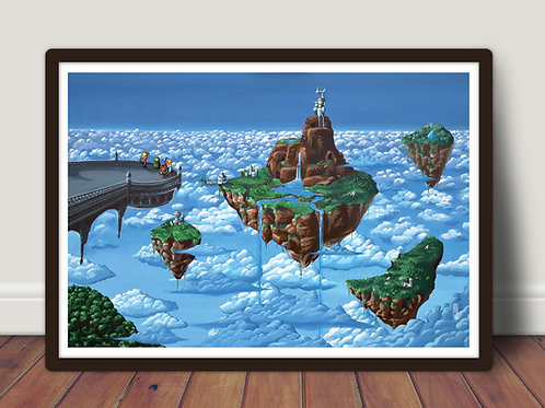 Chrono Trigger - Large A2 poster 42x60 cm