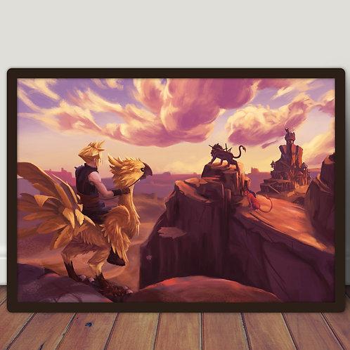 Final Fantasy VII Chocobo - Poster