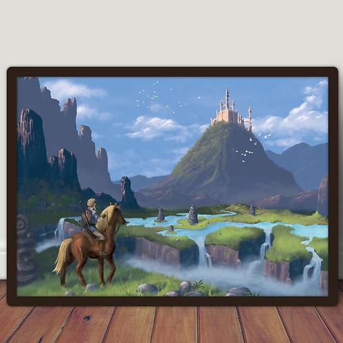 Zelda - Large A2 poster 42x60 cm
