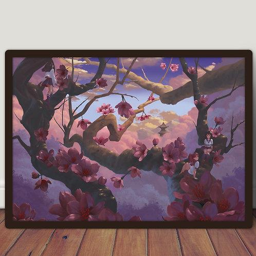 School girls Sakura - Poster