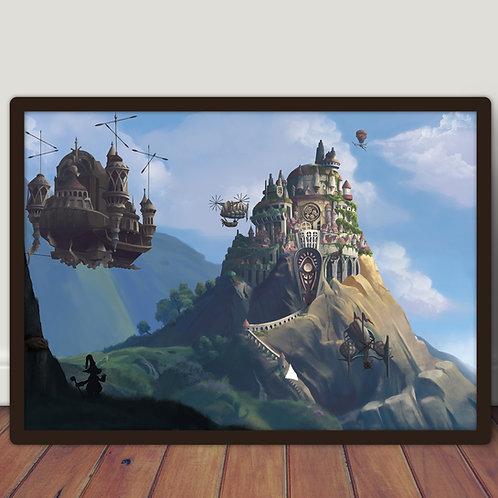 Final Fantasy IX Lindblum - Poster