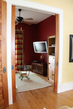Parlor with Television