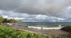 Rainbow in Marquette, MI