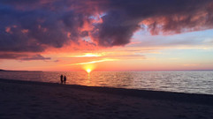 Agate Beach Sunset