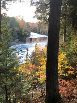 Tahquamenon Falls in Fall Colors