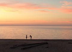 Sunset at Agate Beach
