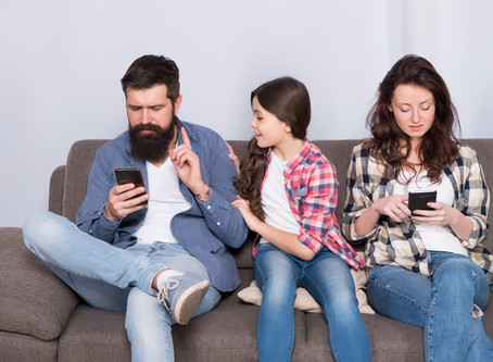 Get Off Your Phone And Spend Time With Your Child