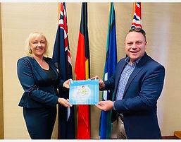 Jacqui and Brisbane Lord Mayor