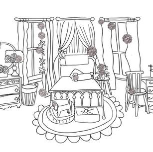 Bedroom Decor. 1