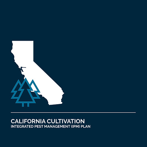 California Cultivation Integrated Pest Management Plan