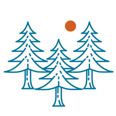 Trees Forest Icon