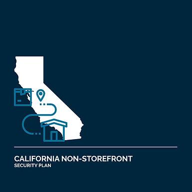 California Non-Storefront Retail License Security Plan