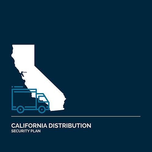 California Cannabis Distribution Security Plan