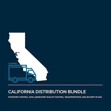 California Cannabis Distribution License Application Bundle