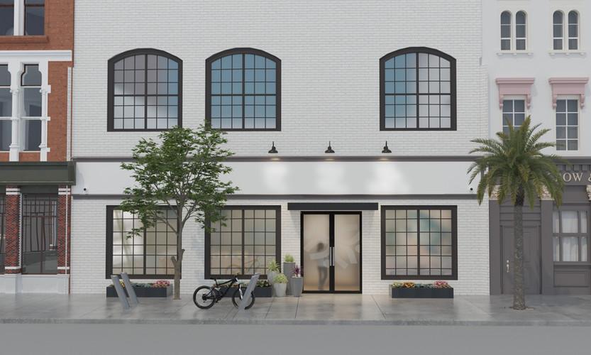 Point7 Dispensary Design - SoCal Exterior