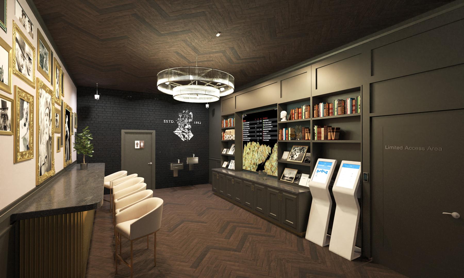 Point7 Dispensary Design - Chicago Speakeasy Dispensary