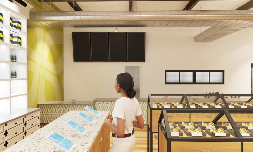 Point7 Dispensary Design - SoCal Interior