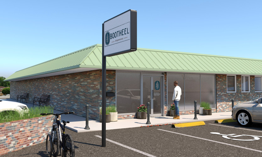 Point7 Dispensary Design - Missouri Medical Dispensary