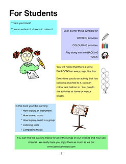 Best Start Music Lessons Book 1 page 5.j