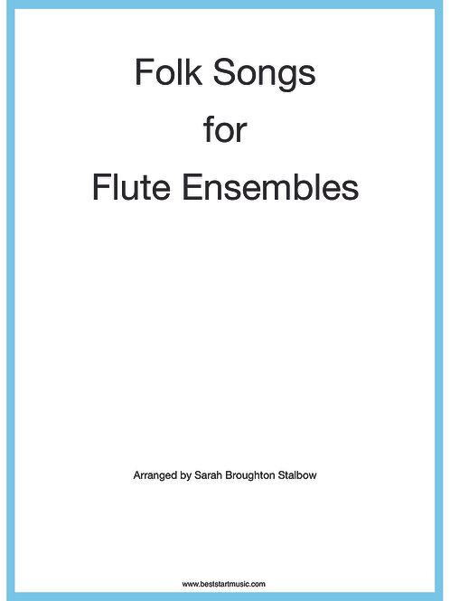 DIGITAL FILE: Folk Songs for Flute Ensemble