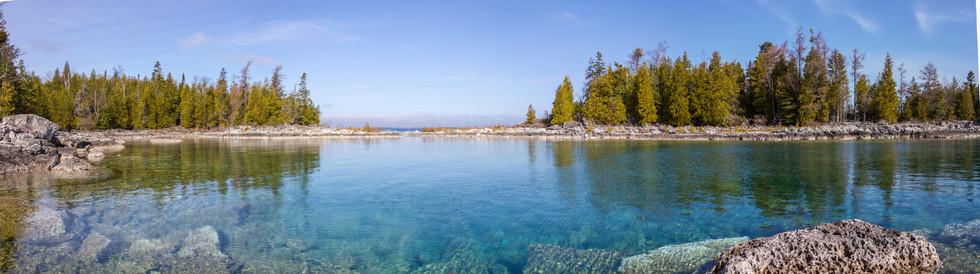 Bruce Peninsula au mois d'Avril / Bruce Penninsula in april