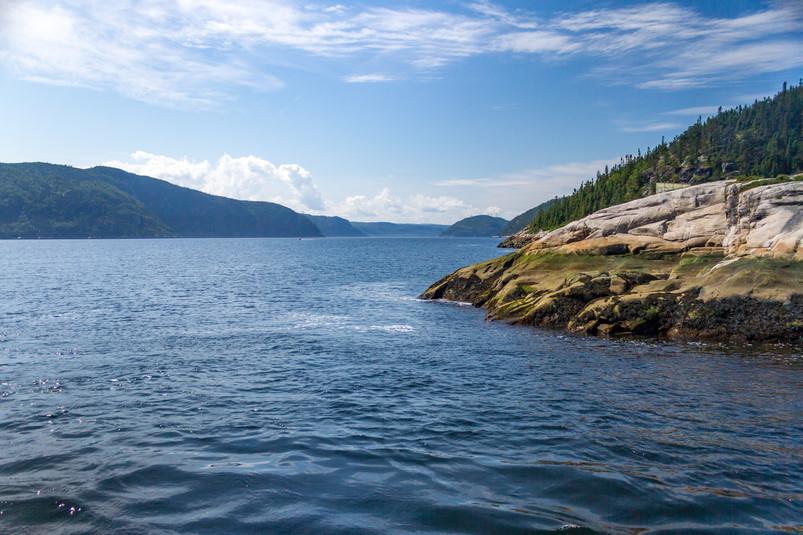 Vue sur le fjord du saguenay / View over the fjord of Saguenay