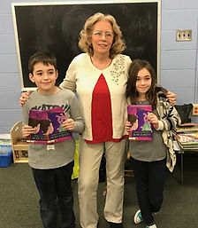 Author reads 'There's A Monster In My Closet!' to her grandkids classmates