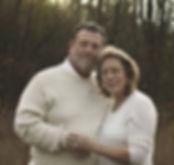 Lisa Brooks, author and her husband