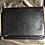 Thumbnail: Custom Leather Crossbody - Black with Black Zipper