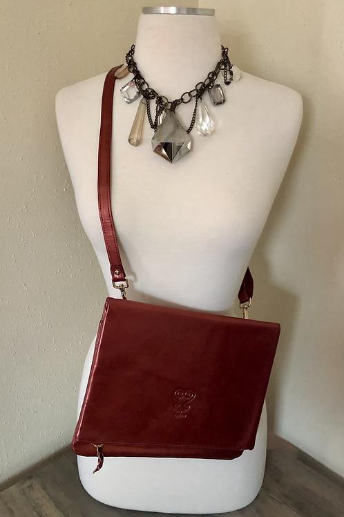 Custom Leather Crossbody - Pretty Penny