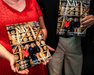 AUSN life members recieve first copy of the summer 2021 Navy magazine