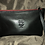 Thumbnail: Custom Leather Clutch Purse - Black Beauty with Red Zipper