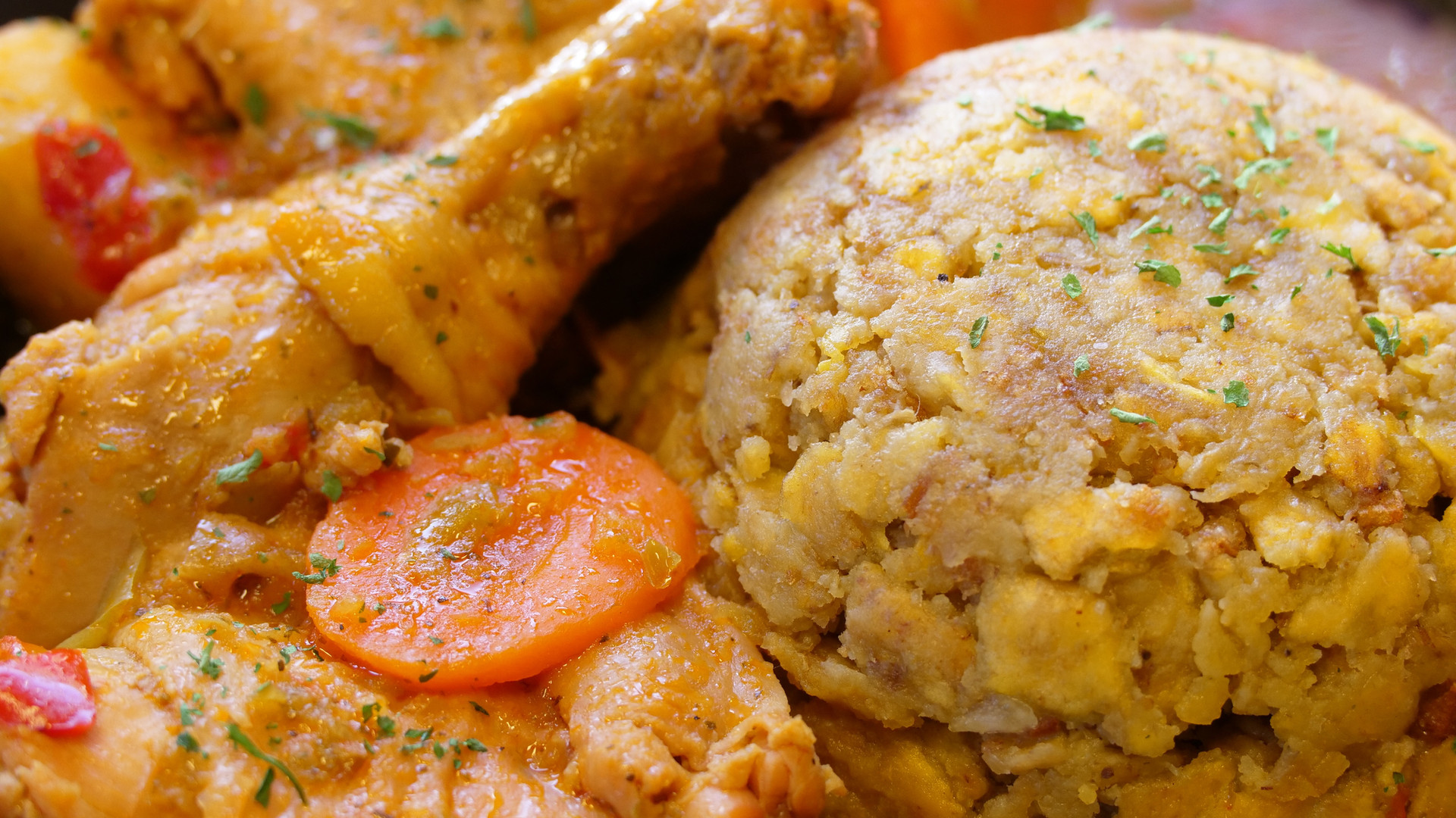 Mofongo, Stewed Chicken.jpeg