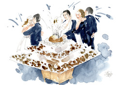 Around the cake. 2018