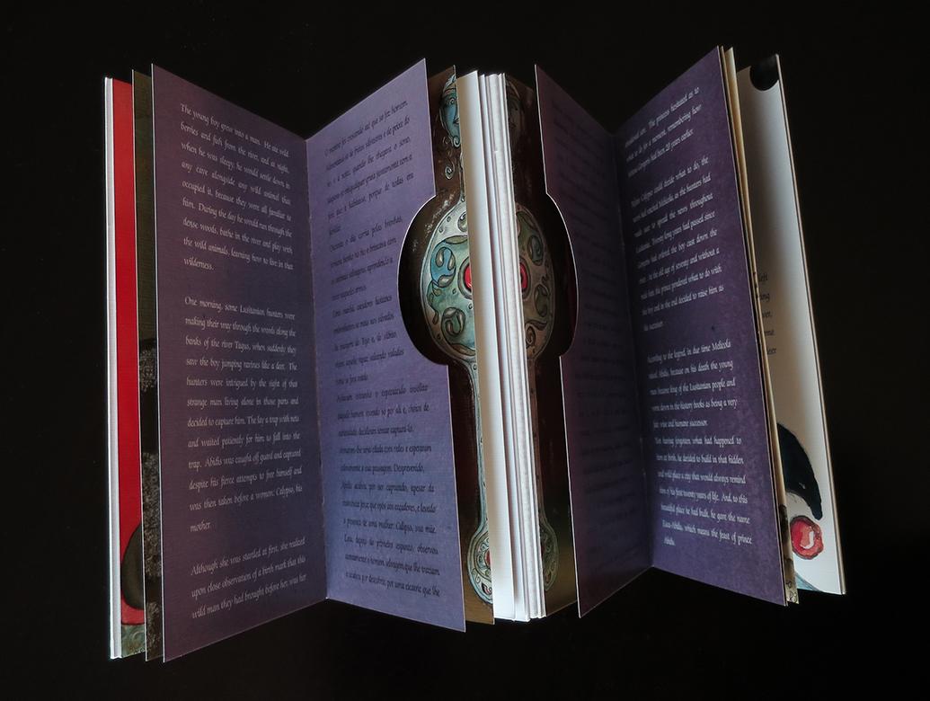 Harmonium book (trimmed interior)
